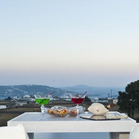 villa marbella dining view