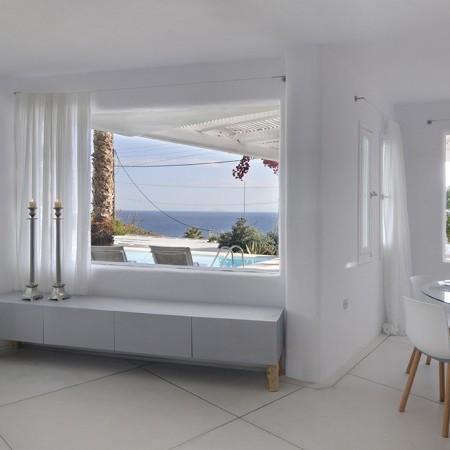 Villa Neroli living room view