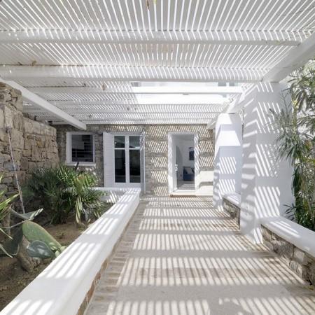 villa Neroli Mykonos entrance
