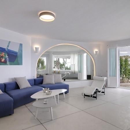 living room of Villa Neroli