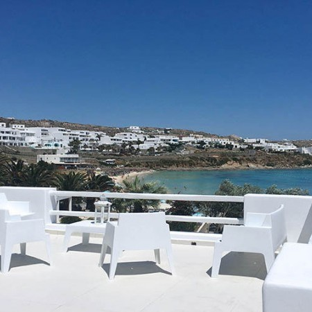 mykonos villa psarou