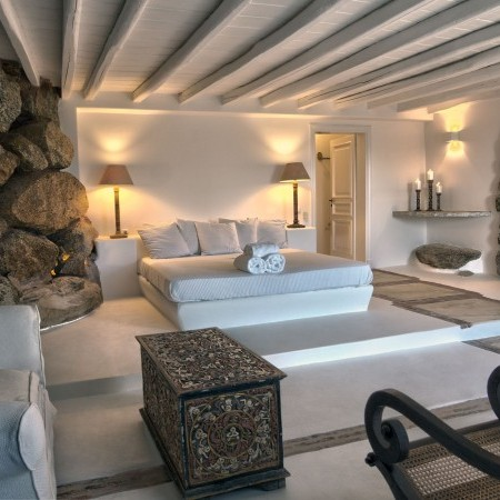 Mykonos Villa Oasis master bedroom