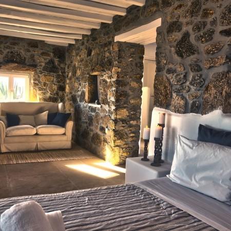 double bedroom guest room