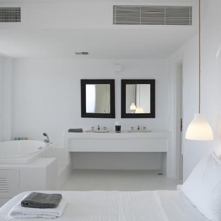 oasis retreat double bedroom ensuite bathroom