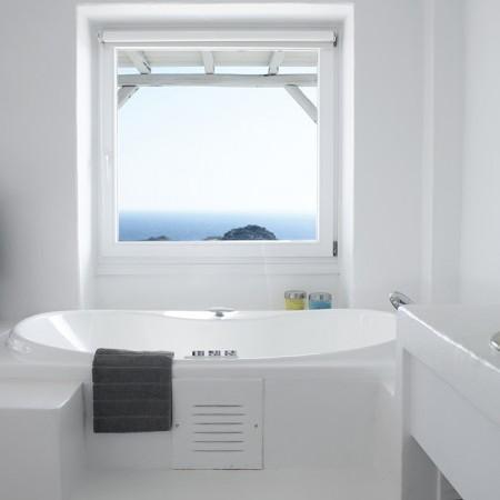 oasis villas bathroom detail