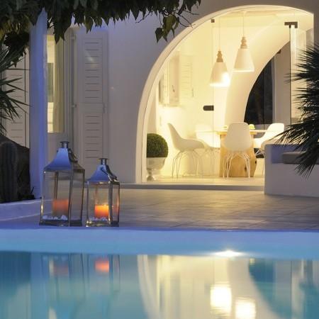 Villa Palm Cove pool lights