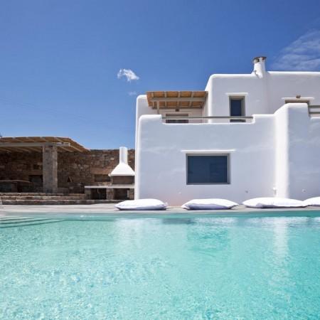 mykonos villa seaview