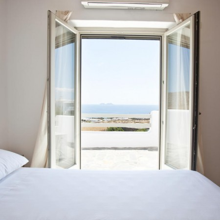 Mykonos Villa Seaview double bedroom