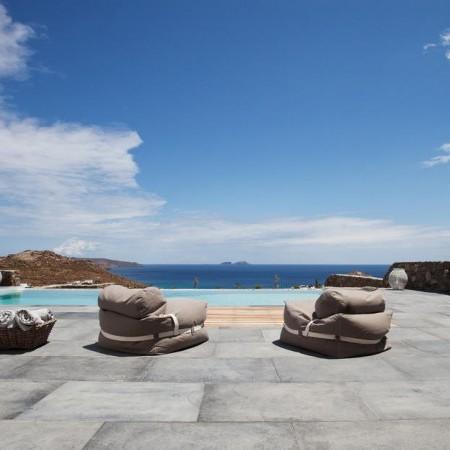 mykonos villa private pool