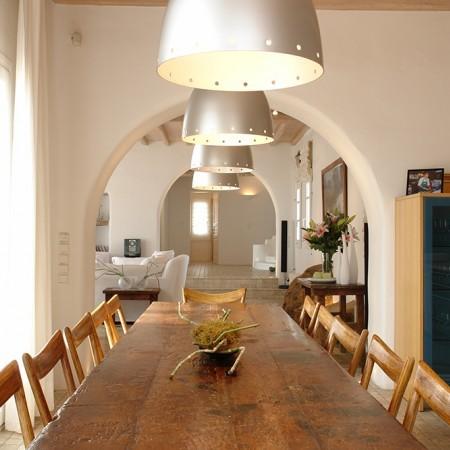 indoors dining area t villa Secret of Mykonos