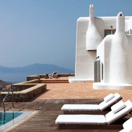 Mykonos Villa chosen by celebrities