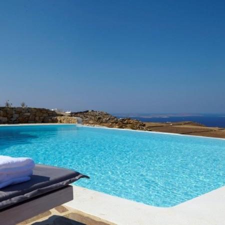 Myconos villa complex for rent