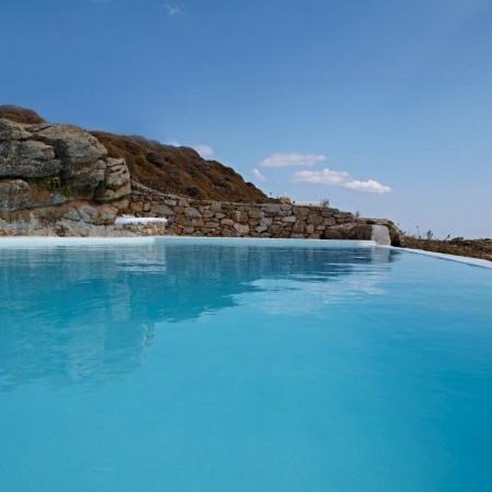 private pool closeup