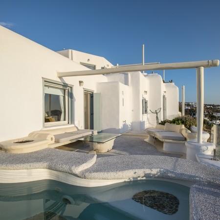 white pearl villa mykonos