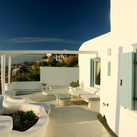 mykonos villa white pearl