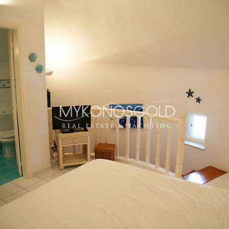 Mykonos Windmill bedroom