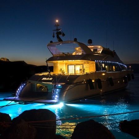 Pandion yacht lights