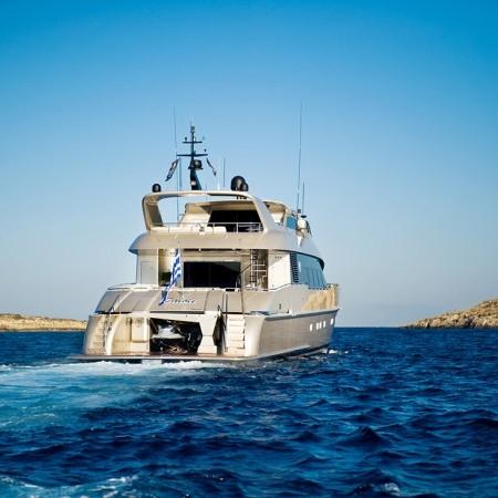 Pandion mega yacht charter