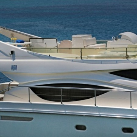 ferretti charter greece
