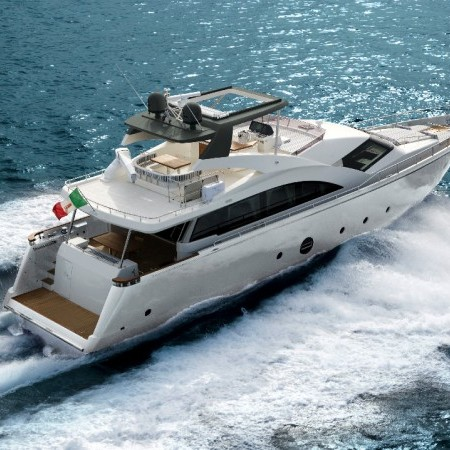 luxury motor yacht icon 75