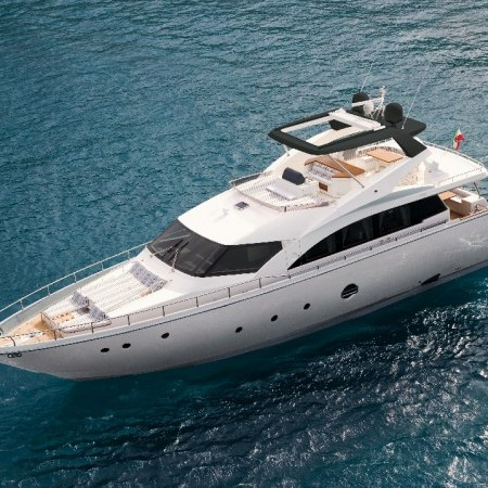 aicon 75 ft motor yacht