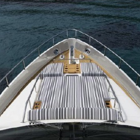 Aicon 75 ft luxury motor yacht