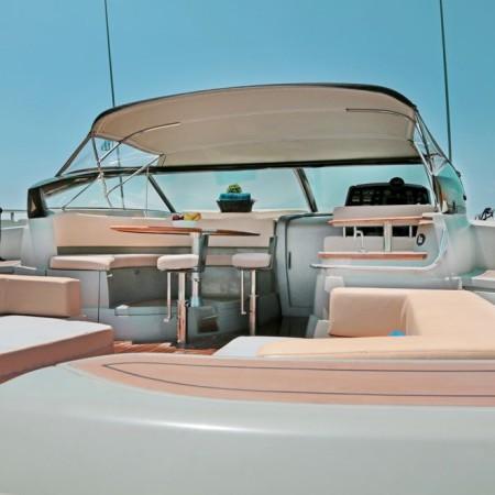 modern yacht baia