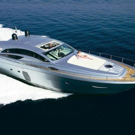 Pershing 72 ft motor yacht mykonos