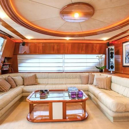 mykonos yacht ferretti salon