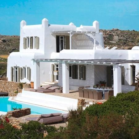 villa afitis mykonos
