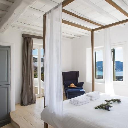 Villa afitis master bedroom