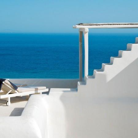 Afitis terrace sea view
