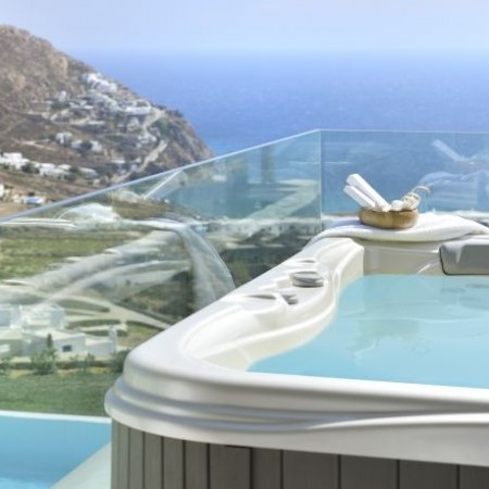 Mykonos Villa with Jacuzzi