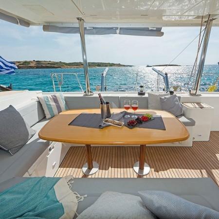 Mykonos lagoon 500 catamaran