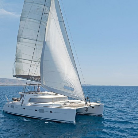 lagoon 500 sailing yacht Greece