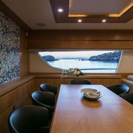 mythos yacht interior