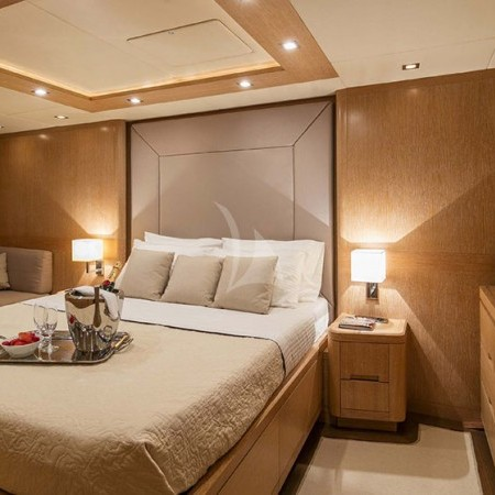 mythos yacht cabin