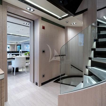 o'mathilde yacht charter detail interior