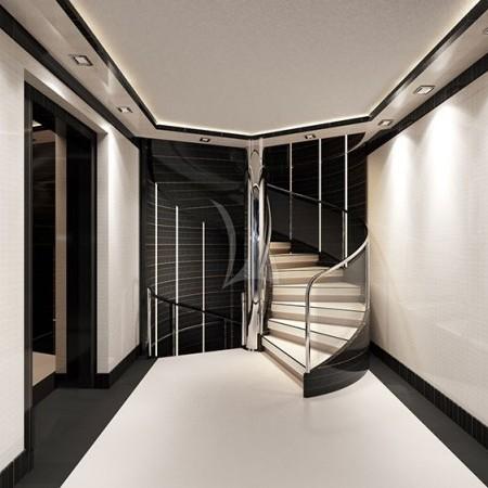 o'mathilde yacht interior living area