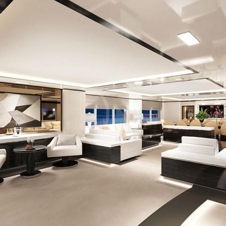 o'mathilde yacht interior living