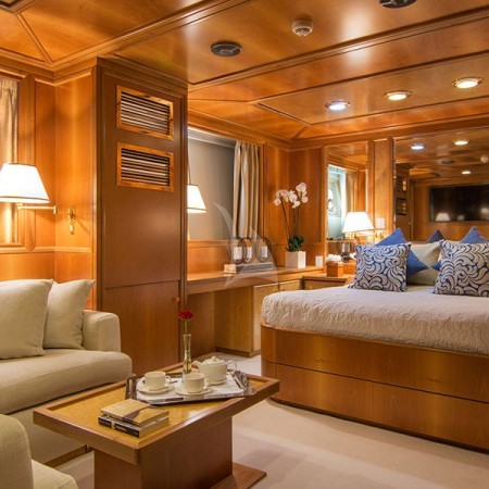 o Natalia yacht cabin