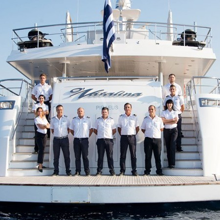 o Natalia yacht crew