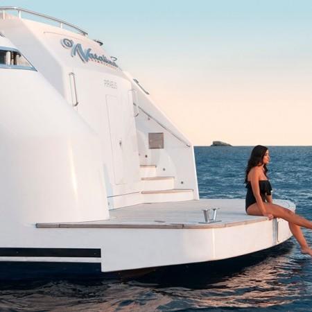 o Natalia yacht bathing platform