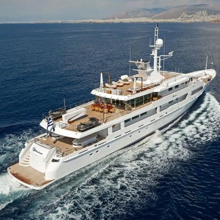 o'natalina yacht Greece