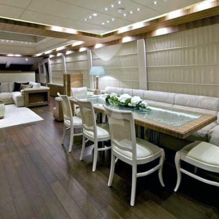 opati yacht interior