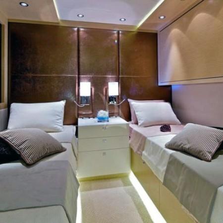 opati yacht twin cabin