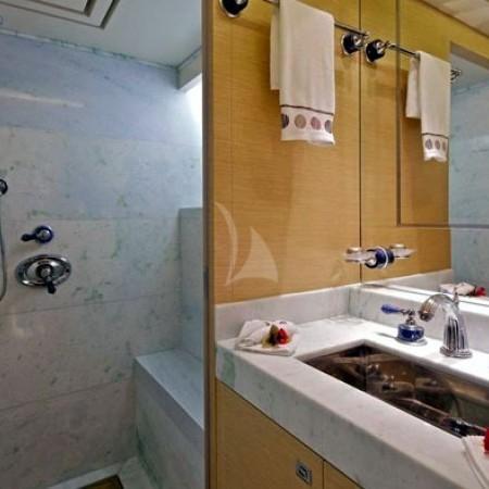 opati yacht bathroom