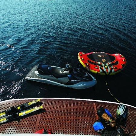 Obsesion yacht water toys