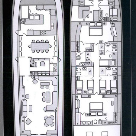 Obsesion yacht plan