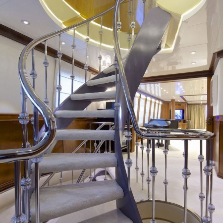 Mega Yacht Stairs
